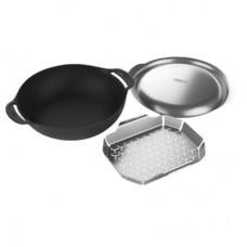 Weber Gourmet BBQ system - SADA WOK s pařákem