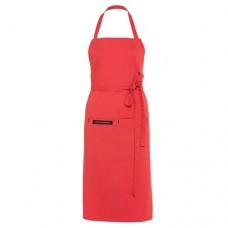 Textilní kuchyňská zástěra Premium červená
